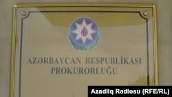 Azerbaijan - Prosecutor's office in Saatli, 28Jun2013.