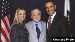 Левон Айрапетян и президент США Барак Обама