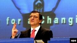 رییس کمیسیون اروپایی می گوید آمریکا و اتحادیه اروپا، در برخورد با ایران، اتحاد عمل دارند