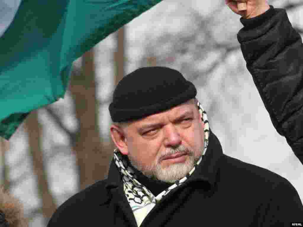 Гейдар Джемаль - председатель Исламского комитета России, теоретик исламского фундаментализма