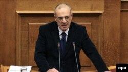 Заместитель министра финансов Греции Димитрис Мардас.