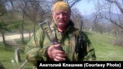 Александр Клешнев в Чечне