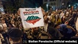 Protest la București împotriva proiectului minier de la Roșia Montană, 5.19.2014, București (@Stelian Pavalache | www.photodesign.ro)