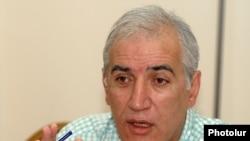 Հայ ազգային կոնգրեսի անդամ, տնտեսագետ Վահագն Խաչատրյանը: