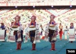 Празднование 40-летия победы во Второй мировой войне. Киев, 1985 год