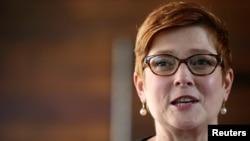 Австралияның сыртқы істер министрі Мариз Пейн.