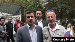 Абдулазиз Раҷабов бо Маҳмуди Аҳмадинажод