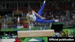 Украинский спортсмен Олег Верняев, архивное фото