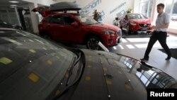 Avtomobil salonu
