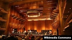Imagine a interiorului Avery Fisher Hall