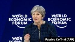 Premierul britanic Theresa May la Davos