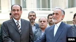 نوری المالکی، نخست وزير عراق صبح روز چهارشنبه وارد تهران شد.