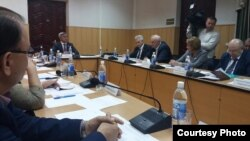 Заседание президиума Милли Шуры