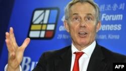 Бывший премьер-министр Великобритании Тони Блэр.
