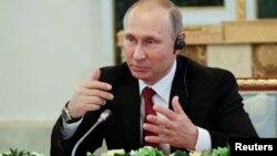Presidenti i Rusisë, Vladimir Putin. Shën Petersburg, 1 qershor 2017.