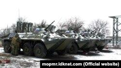 Blindate rusești în regiunea transnistreană