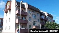 Zgrada u Beranovcu u kojoj su smešteni raseljeni sa Kosova