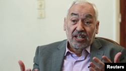 Rachid Ghannouchi, Tunisia's once-exiled Islamist leader, has praised the governing AKP for reconciling Islam with modernity.