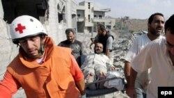 Кана, Ливан: в результате израильской атаки погибли десятки гражданских лиц