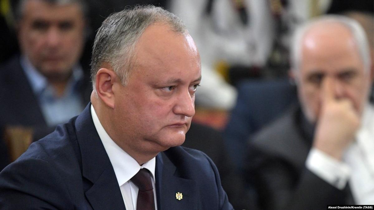 Президент Молдовы заявил, что Россия сделала «первый шаг» для вывода войск