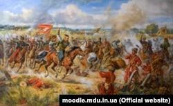 Картина «Конотопская битва» українського художника-баталіста Артура Орльонова