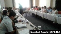 Адам саудасы құрбандарының құқығын қорғау жөніндегі семинар. Алматы, 21 шілде 2016 жыл.