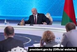 Аляксандар Лукашэнка падчас «Вялікай размовы з прэзыдэнтам». 1 сакавіка 2019 году