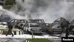 Архивска фотографија: Терористички напад во Абуџа на 16 јуни 2011 година.