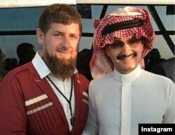 Рамзан Кадыров и саудовский принц аль-Валид ибн Талял