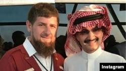 Рамзан Кадыров и саудовский принц аль-Валид ибн Таляль ибн Абделазиз аль-Сауд