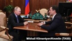Владимир Путин жана Глеб Никитин