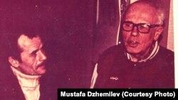 Мустафа Джемилев и Андрей Сахаров, 1996 год. Архив Мустафы Джемилева