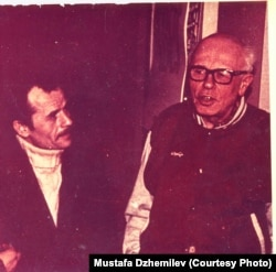 Мустафа Джемилев и Андрей Сахаров. 1996. Архив Мустафы Джемилева