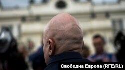 Слави Трифонов пред Народното събрание.