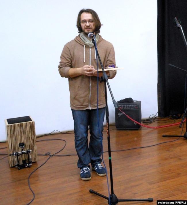 Міхал Бараноўскі замест прамовы прачытаў свае вершы з кнігі «Volumen 1»