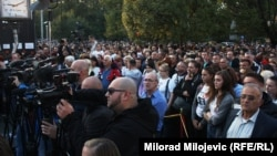 """Brojni građani na protestu """"Pravda za Davida"""""""