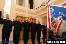 Присяга польських поліцейських