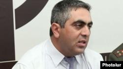 Пресс-секретарь Минобороны Армении Арцрун Ованнисян.