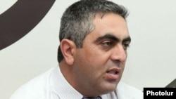 Пресс-секретарь Министерства обороны Армении Арцтрун Ованнисян (архив)