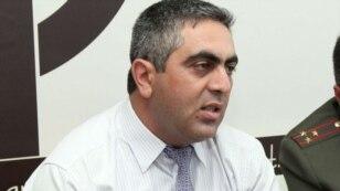 Пресс-секретарь Министерства обороны Армении Арцрун Овиннисян (архив)