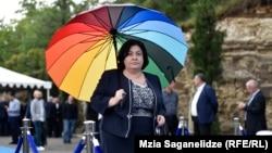 Депутат-«мечтательница» Эндзела Мачавариани