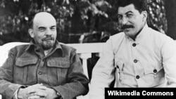 Владимир Ленин һәм Иосиф Сталин