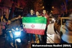 Tehran küçələrində bayram