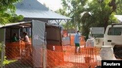 Медицинский центр лихорадки Эбола в Бамако. 13 ноября 2014 года.