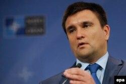 Ministrul de externe ucrainean Pavlo Klimkin
