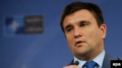 Ukranian Foreign Minister Pavlo Klimkin (file photo)