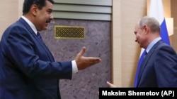 Встреча Мадуро и Путина в 2018 году.