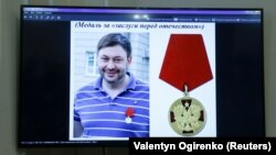 За даними СБУ, затриманий керівник агенції Кирило Вишинський (на фото) раніше був нагороджений державною нагородою Росії «За повернення Криму»