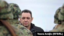 Serbian Defense Minister Aleksandar Vulin (file photo)