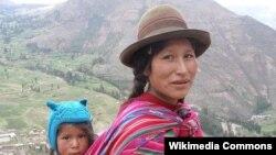 Перулук аял, түпкүлүктүү кечуа элинен.